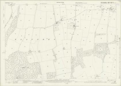 Hertfordshire XXXVIII.10 (includes: Bovingdon; Chenies; Flaunden; Latimer; Sarratt) - 25 Inch Map