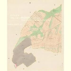 Braunpusch (Praporzisst) - c6083-1-002 - Kaiserpflichtexemplar der Landkarten des stabilen Katasters