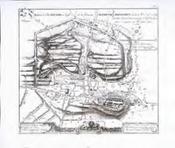 Plan de la ville d'Avenghe en Suisse et de l'ençeinte d'Aventicvm Helvetorvm