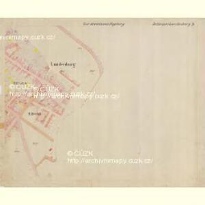 Lunderburg - m0243-1-016 - Kaiserpflichtexemplar der Landkarten des stabilen Katasters