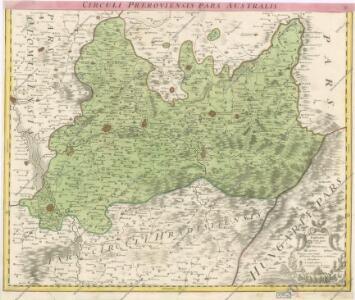 Marchionatus Moraviae Circulus Preroviensis pars Australis