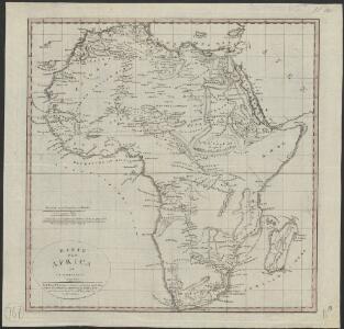Karte von Africa zu C. F. Dambergers Reisen : nach Rennell's letzterer Charte von Nordafrica, Forsters Charte von Südafrica, Arrowsmith's beyden Weltcharten, auch Danville und Vaugondy &c.