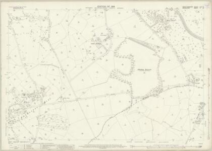 Hertfordshire XLIV.8 (includes: Aldenham; Bushey; Harrow; Hendon) - 25 Inch Map