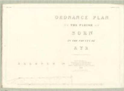 Ayr, Sheet XXIV.7 (Sorn) - OS 25 Inch map