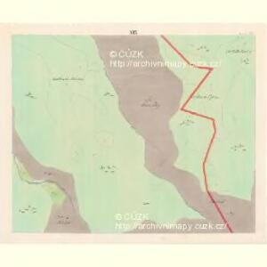 Lomna (Lomno) - m0508-1-018 - Kaiserpflichtexemplar der Landkarten des stabilen Katasters