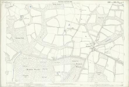 Surrey XLVII.5 (includes: Rudgwick; Slinfold; Warnham) - 25 Inch Map