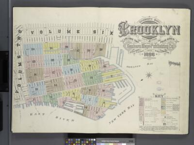 Insurance maps of the borough of Brooklyn city of New York. V.1. Published by the Sanborn Map Co., 11 Broadway, New York. 1886.