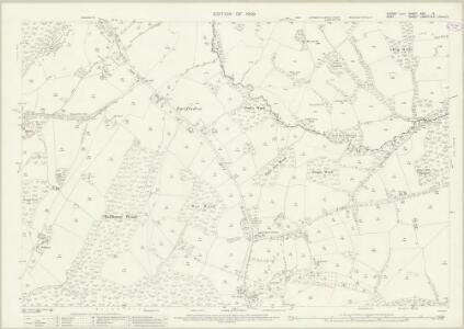 Sussex XXX.3 (includes: Etchingham; Hawkhurst; Salehurst) - 25 Inch Map