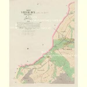 Giesshübel (Wolessnice) - c5448-1-002 - Kaiserpflichtexemplar der Landkarten des stabilen Katasters