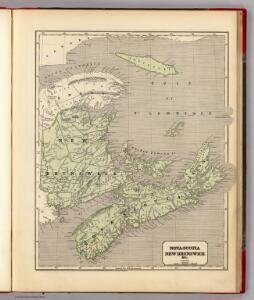 Nova-Scotia, N.B. &c.