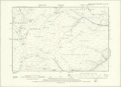 Yorkshire LXXVIII.NW - OS Six-Inch Map