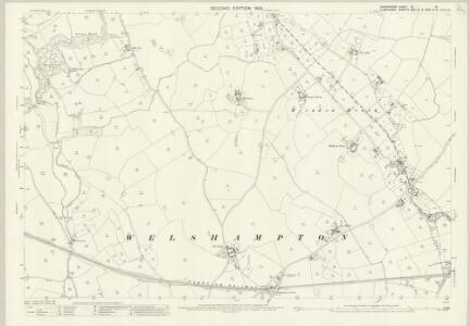 Shropshire VI.16 (includes: Bettisfield; Ellesmere Rural; Welshampton) - 25 Inch Map