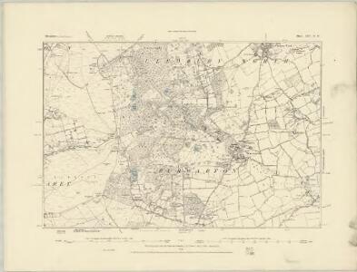 Shropshire LXV.SW - OS Six-Inch Map