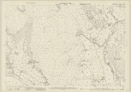 Denbighshire XXXIV.6 (includes: Llangollen Rural; Llantysilio) - 25 Inch Map