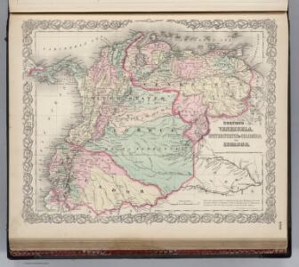Venezuela, Colombia and Ecuador.