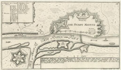 Die Stadt Mayntz.