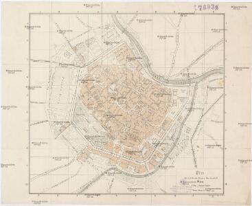 Plan der k. k. Reichs-Haupt u. Residenzstadt Wien