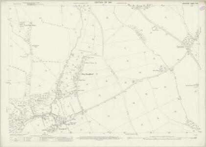 Berkshire VI.13 (includes: Abingdon St Helen Without; Besselsleigh; Marcham; Wootton) - 25 Inch Map