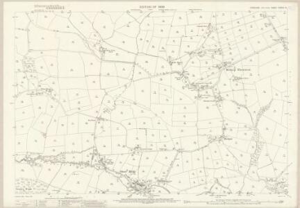 Yorkshire CXXXVI.12 (includes: Bishop Thornton; Hartwith Cum Winsley) - 25 Inch Map