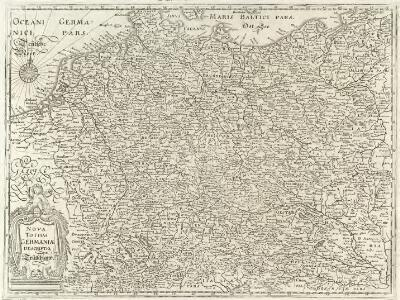 Nova Totius Germaniae descriptio Teutschland