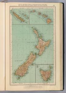 169. Nuova Zelanda, Hawaii, Tasmania, Nuova Caledonia.