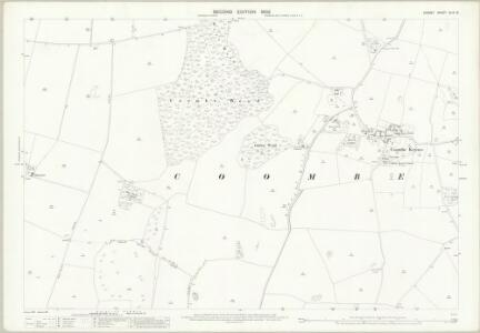 Dorset XLIX.13 (includes: Coombe Keynes; West Lulworth; Winfrith Newburgh) - 25 Inch Map
