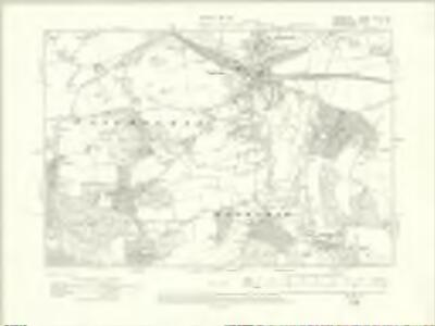 Berkshire XXVIII.SE - OS Six-Inch Map