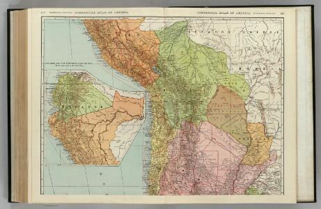 Chile, Bolivia, Peru, Ecuador, Uruguay, Paraguay, Argentine Republic. (northern half).