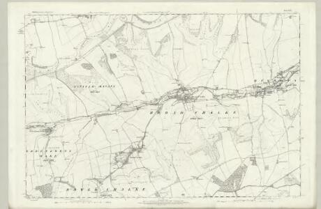 Wiltshire LXIV - OS Six-Inch Map