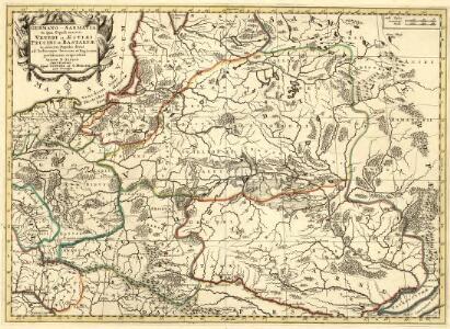 Germano - Sarmatia in qua Populi maiores Venedi et Aestiaei Peucini et Bastarnae in minores Populos divisi ad hodiernam locorum, et Redionum positionem respondent