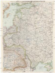 G. Freytags Karte der westrussischen Kriegsschauplätze