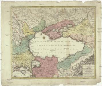 Nova et accurata Tartariae Europae seu minoris et in specie Crimae delineatio geographica