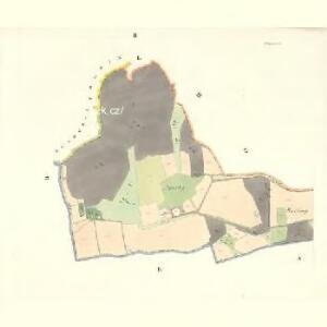 Policzna - m2353-1-002 - Kaiserpflichtexemplar der Landkarten des stabilen Katasters