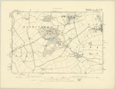 Huntingdonshire IX.SW - OS Six-Inch Map