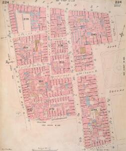 Insurance Plan of London Vol. IX: sheet 224