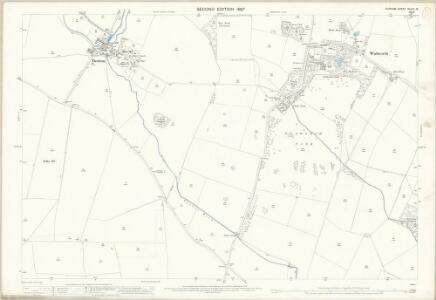 Durham XLVIII.15 (includes: Denton; High Coniscliffe; Walworth) - 25 Inch Map