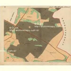 Cwalatitz - m0989-1-004 - Kaiserpflichtexemplar der Landkarten des stabilen Katasters