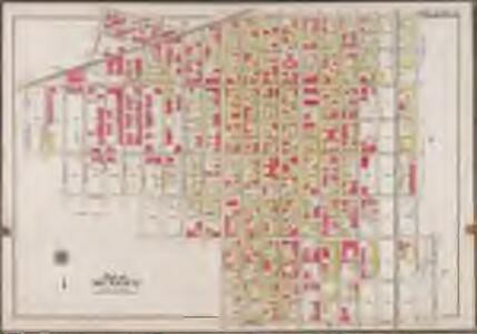Plate 37: [Bounded by Park Place, East New York Avenue, Liberty Avenue, Snediker Avenue, Dumont Avenue, Hinsdale Street, Riverdale Avenue, Rockway Avenue, Dumont Avenue, Amboy Street, Blake Avenue, Barret Street, Sutter Avenue, Howard Avenue, East New York Avenue and Saratoga Avenue.]; Atlas of the borough of Brooklyn, city of New York: from actual surveys and official plans by George W. and Walter S. Bromley.