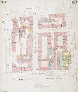 Insurance Plan of Glasgow Vol. V: sheet 204