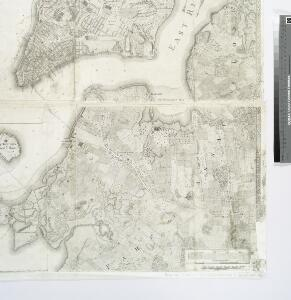 Plan of the city of New York in North America : surveyed in the years 1766 & 1767 / B. Ratzer, lieutt. in His Majestys 60th or Royal American Regt. ; Thos. Kitchin, sculpt., engraver to His Late Royal Highness, the Duke of York, &c.