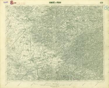 III. vojenské mapování 4259