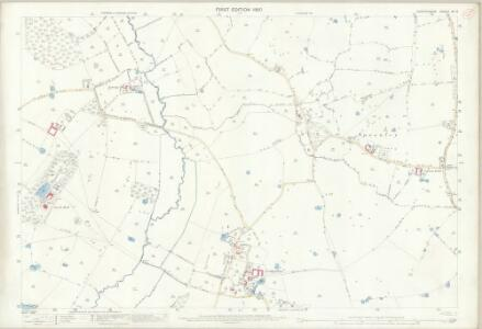 Shropshire IX.13 (includes: Adderley; Market Drayton; Moreton Say; Norton In Hales) - 25 Inch Map