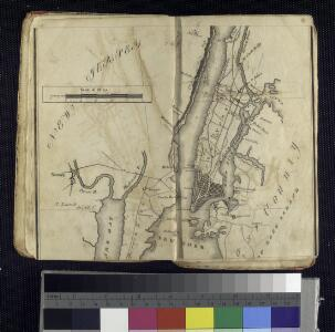 Map of the Hudson ... from New York Harbor the Fort Washington.