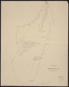 Géodésie de Madagascar. Triangulation de 1900