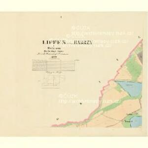 Lippen - c4103-1-001 - Kaiserpflichtexemplar der Landkarten des stabilen Katasters