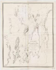 Chart of Narraganset Bay : surveyed in 1832