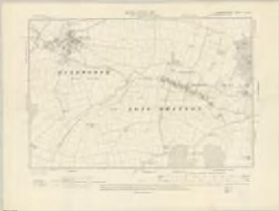 Leicestershire X.SW - OS Six-Inch Map