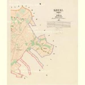 Kbell - c3078-1-003 - Kaiserpflichtexemplar der Landkarten des stabilen Katasters
