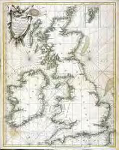 Petit Neptune anglois ou carte marine des côtes d'Angleterre, d'Ecosse et d'Irlande
