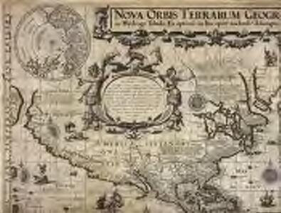 Nova orbis terrarum geographica ac hÿdrogr. tabula
